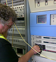 Commtronix Testing Knockmore Transmitter